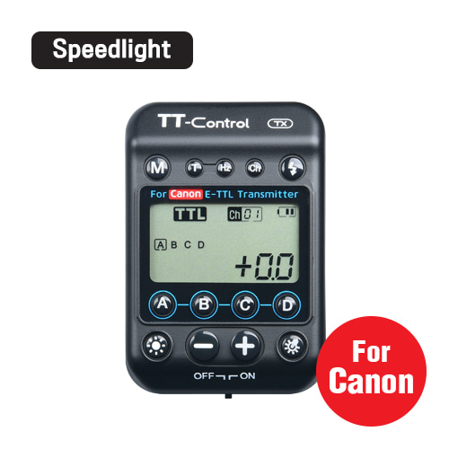 TT-Control TX / For Canon For SpeedlightSMDV