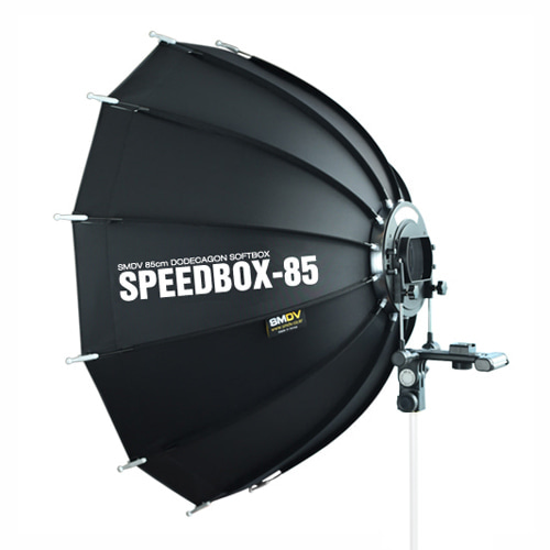 SPEEDBOX-85 / Size : 85 x 90 cm SOFTBOX SPEEDLITE STROBENot for High Heat UsageSMDV